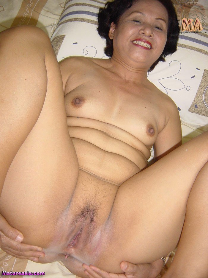 Mature asian port