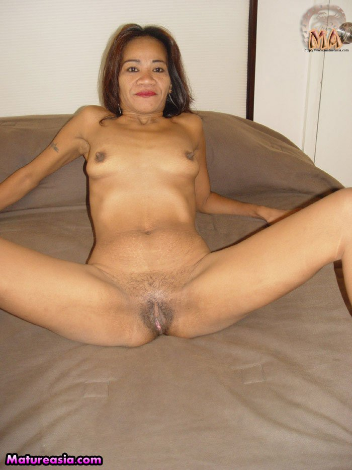 asian Skinny woman mature