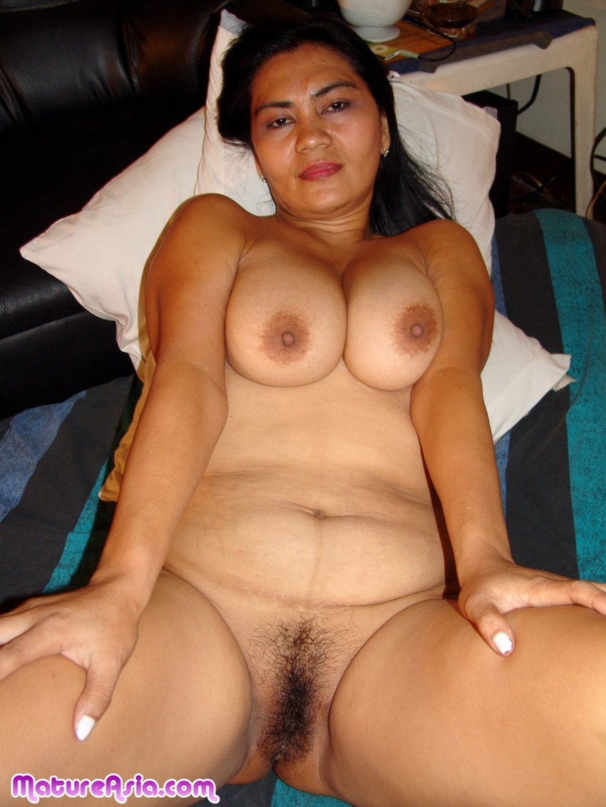 tits big asian Mature with