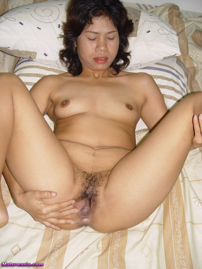 Mature nude asian